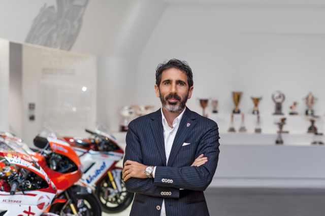 Francesco Milicia Ducati sales 2021