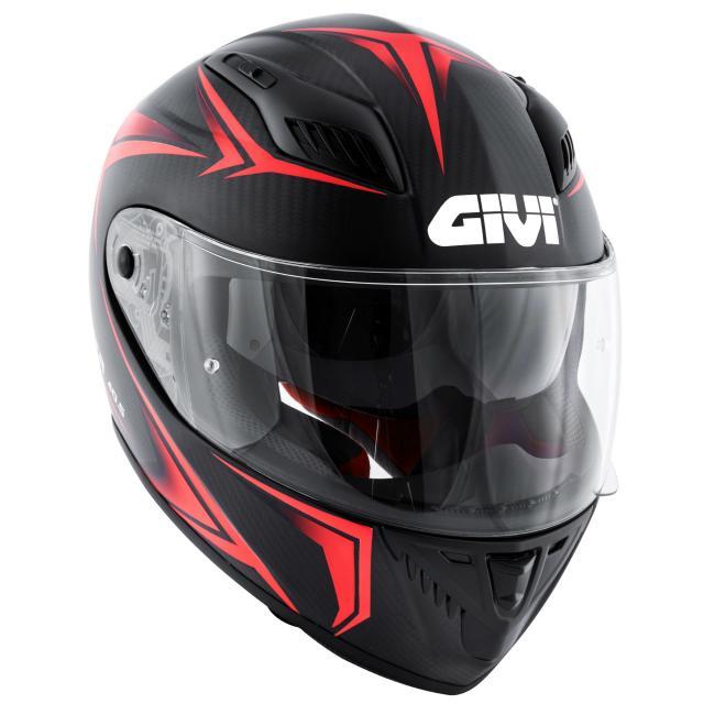 New Carbon Helmet From Givi Visordown