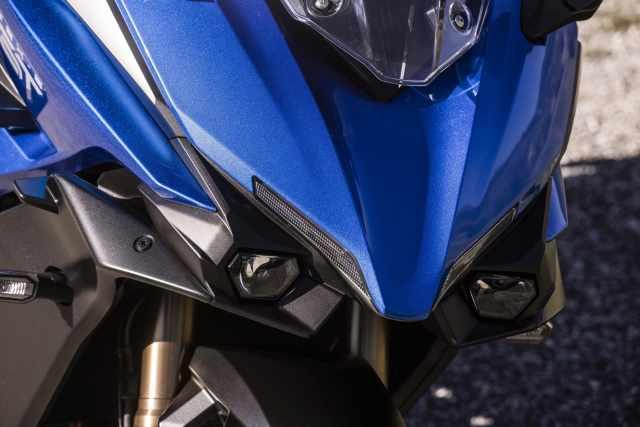 GSX-S1000GT headlights and fairing