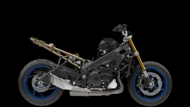 GSX-S1000GT without any bodywork