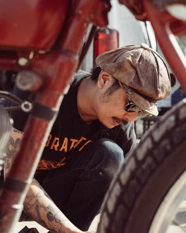 Go Takamine Indian Motorcycle