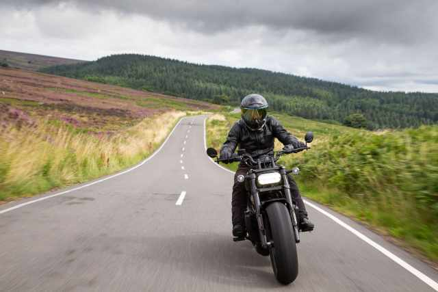 H-D Sportster S Visordown video and review