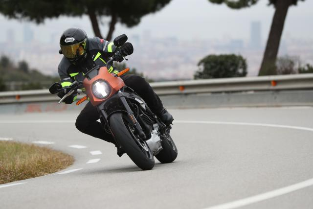 Harley-Davidson LiveWire review Visordown