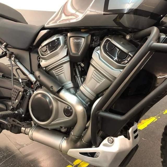 Harley-Davidson Pan America leaked photos