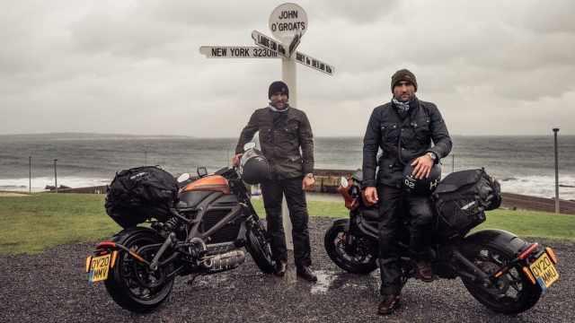 Harley Davidson LiveWire Turner Twins