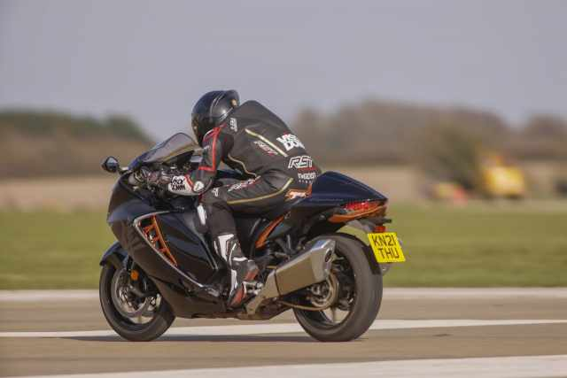 Hayabusa UK road test and review