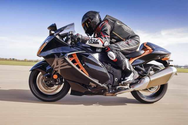 Hayabusa toad review side