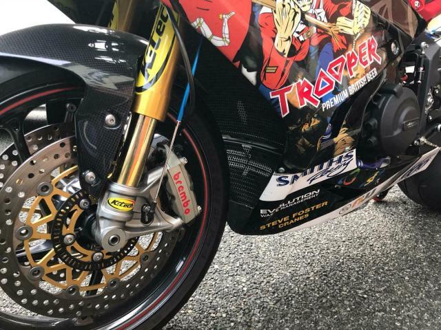 Hickman Race bike