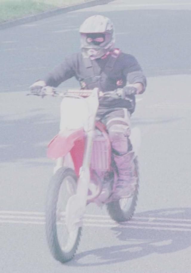 Police appeal to find rider who keeps setting off cameras like this
