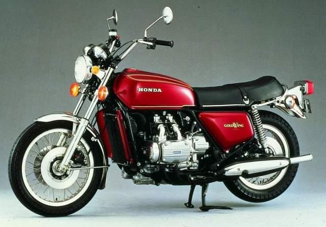 1975 - Honda GL1000 Gold Wing