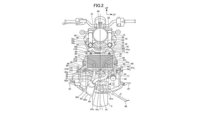 Honda Rebel 1100 patent image