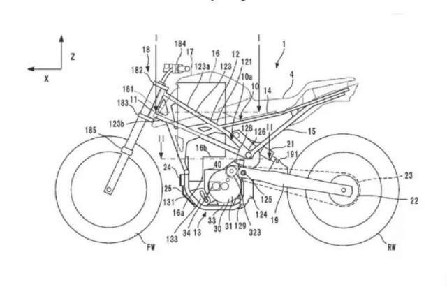 Honda electric motorcycle