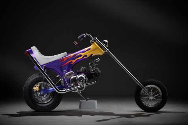 Honda Dax Custom Chopper Ramone Lemb Muklay