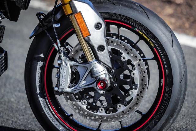 Ducati Hypermotard 950 SP brakes