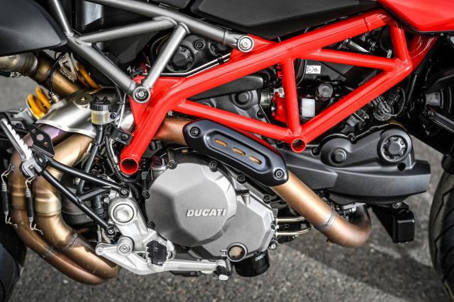 Ducati Hypermotard 950 frame