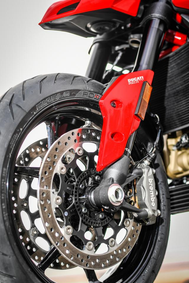 Ducati Hypermotard 950 forks