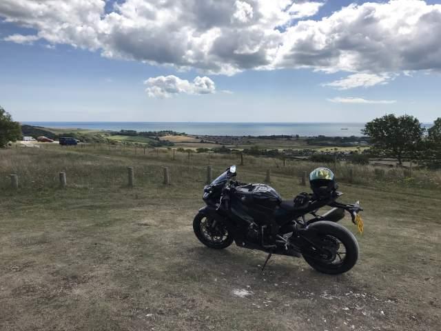 Isle of Wight Diamond Races on a Honda Fireblade