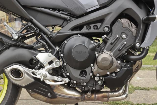 Yamaha MT-09 engine