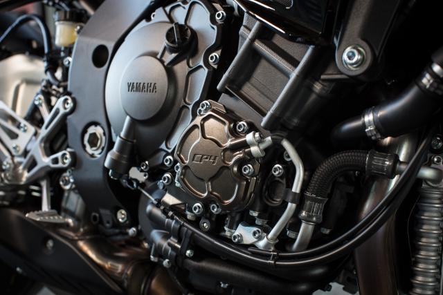Yamaha MT-10 SP engine