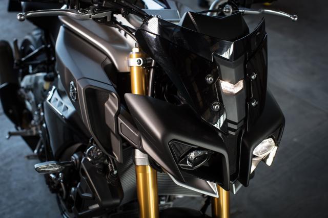 Yamaha MT-10 SP styling