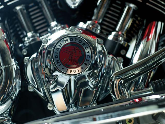 Indian Chieftain Elite Engine