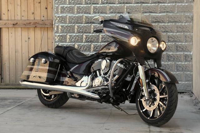 Indian Motorcycle patent speed sensitive cornering lights