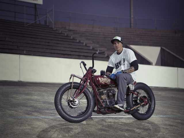 Indian Motorcycle and FMX star Danny Schneider join forces