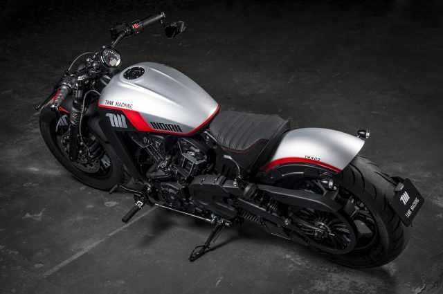Indian Motorcycle NEON Tank Machine
