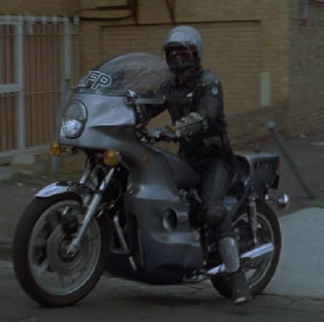 Jim Goose Mad Max Kawasaki motorcycle