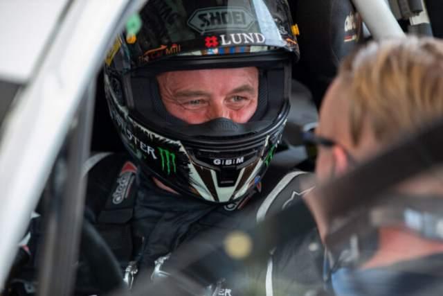 John McGuinness Rallycross Supercar