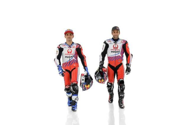 Jorge Martin and Johann Zarco Pramac Ducati