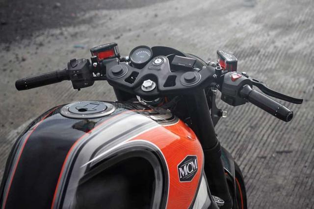 KTM RC390 Cafe Racer