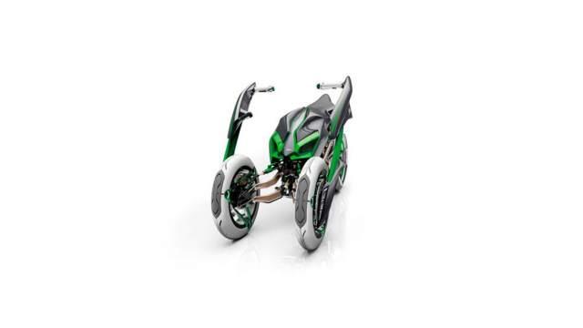 Kawasaki Tilting Quad