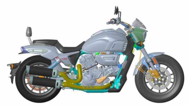 Longjia 650cc cruiser