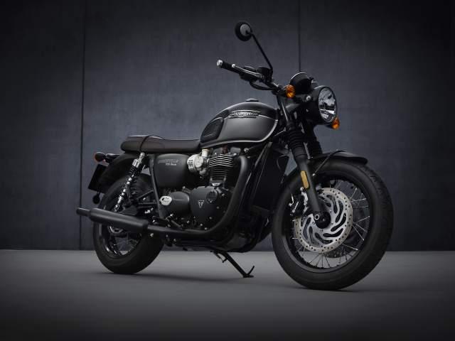 2021 Bonneville T120 Black