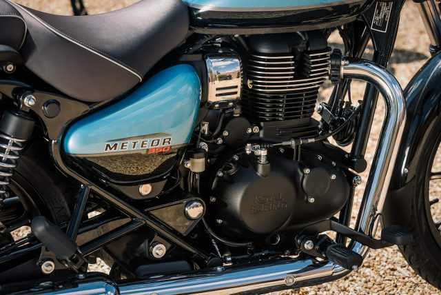 Meteor 350cc engine