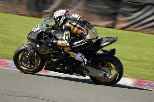 Luke Mossey - OMG Rich Energy BMW [credit: Ian Hopgood]