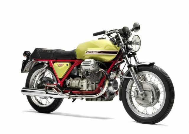 Moto Guzzi 1971-74 V7 Sport