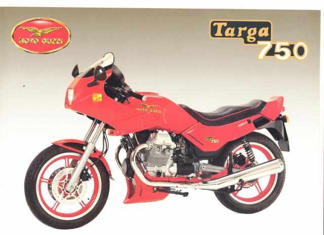 Moto Guzzi 1980-92 Monza 500 Targa 750
