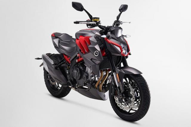 New: Motrac 500 sports bike