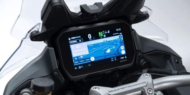 Ducati Multistrada V4 dash