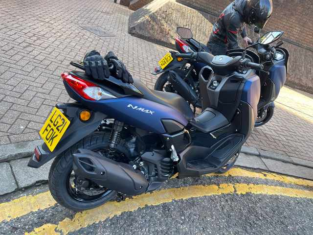 Yamaha NMAX 2021 parked up