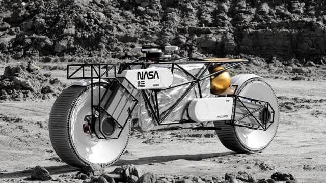 Hookie Co Tardigrade NASA motorcycle