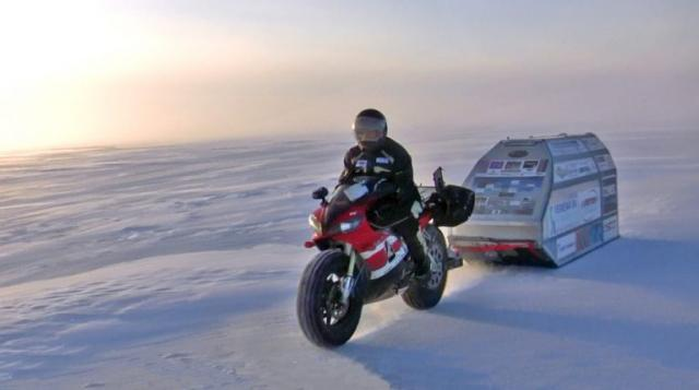 North Pole Yamaha R1