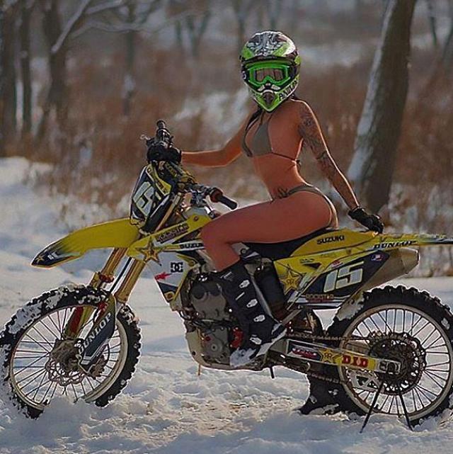 Tributes paid to Russian Instagram star biker 'Monika9422'