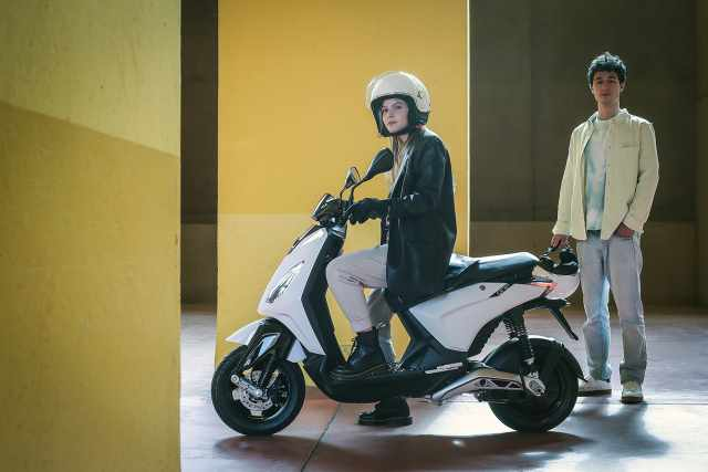 Piaggio One new scooter