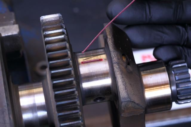 How to… fit new big end and main bearings - 4