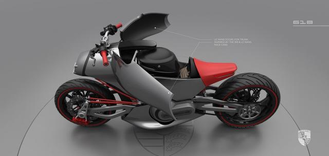 The Porsche Motorcycle Concept Visordown