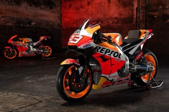 Repsol Honda 2021 MotoGP Marquez Espargaro