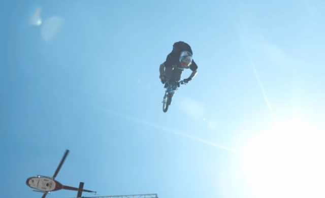 Robbie Maddison backflip jump